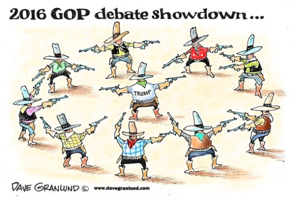 Debate showdown