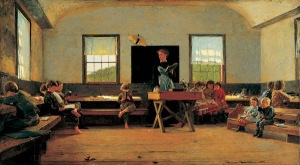 The country school, by Winslow Homer