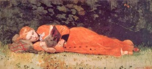 The new novel, by Winslow Homer