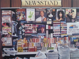 Newsstand, Ken Keeley