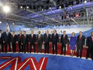 The GOP candidates, USA Today