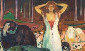Ashes, Edvard Munch