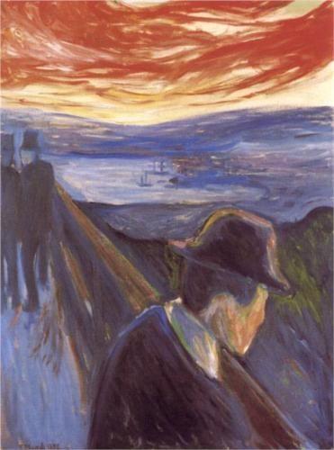 Despair, Edvard Munch