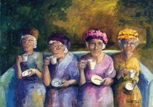 ladies society tea