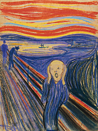 The Scream, Edvard Munch