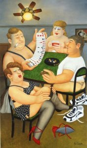 Beryl Cook: Strip Poker
