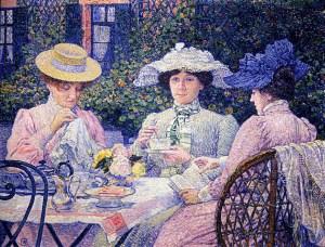 summer-afternoon-tea-in-the-garden-1901-theo-van-rysselberghe