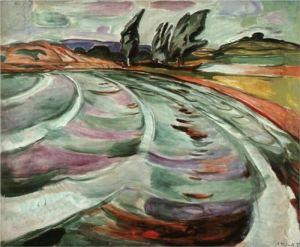 The Wave, Edvard Munch