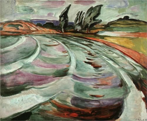 The Wave, by Edvard Munch