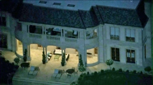 Beverly Glen Compound where Saudi Prince Majed Abdulaziz Al-Saud, 28, was arrested by LAPD