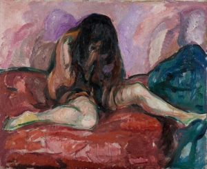 Weeping Nude, Edvard Munch