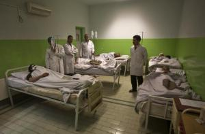 Doctors Without Borders hospital before the bombing