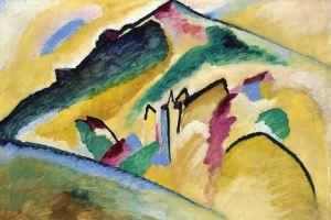 Autumn Landscape, Kandinsky
