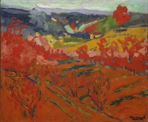 Autumn landscape, Maurice de Vlaminck