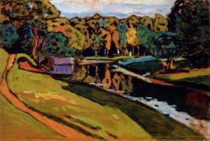 Autumn Study, Kandinsky