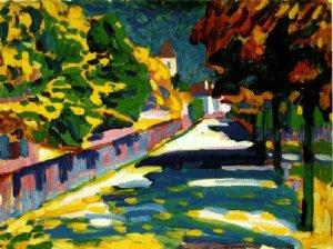 Autumn in Bavaria, Kandinsky