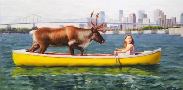 Canoe, Eric Vanasse