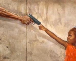 Stop Child Killing painting