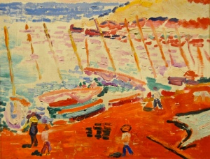 Henri Matisse - The Red Beach