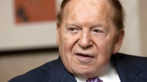 Sheldon Adelson, chairman of Las Vegas Sands Corp., speaks during an interview in Hong Kong, China, on Monday, Nov. 30, 2009. Jerome Favre/Bloomberg via Getty Images