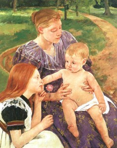 The Family, Mary Cassatt
