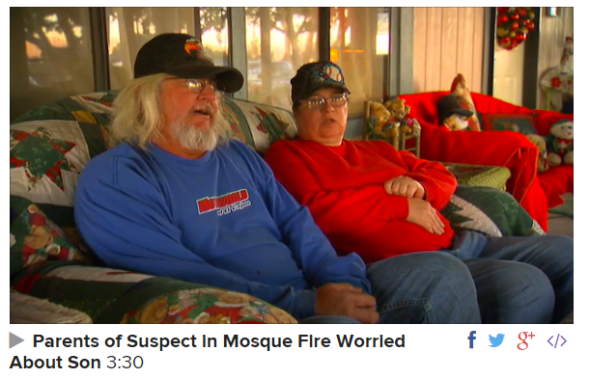 Parents of Accused Mosque Arsonist Carl Dial Describe Him as Loner NBC News