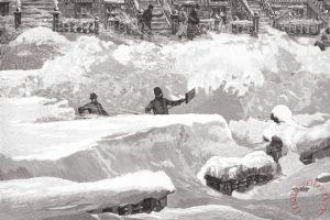 New York: Blizzard Of 1888.