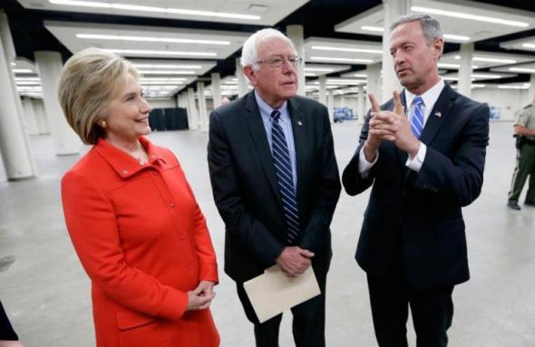 clinton-sanders-omalley