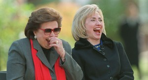 Dorothy Rodham and Hillary Clinton