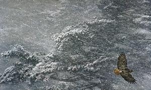 Sudden Blizzard, Robert Bateman