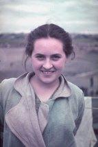Unidentified young woman, Kutno, Nazi-occupied Poland, 1939