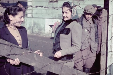 Unidentified young women, Kutno, Nazi-occupied Poland, 1939