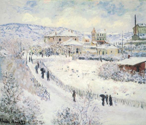 View of Argenteuil Snow