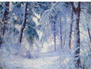 Winter Forest, Walter L. Palmer