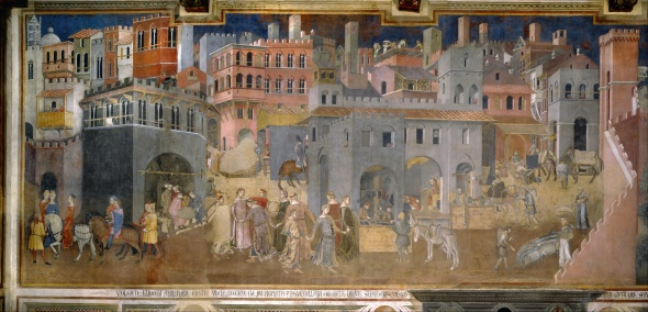 Ambrogio_Lorenzetti_-_Effects_of_Good_Government_in_the_city_-_Google_Art_Project