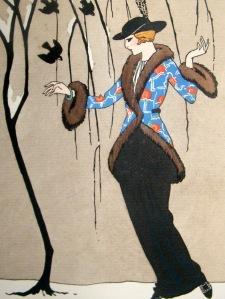 gazette-du-bon-ton-by-barbier-1912-art-deco-pochoir.-la-belle-aux-moineaux-[2]-59024-p