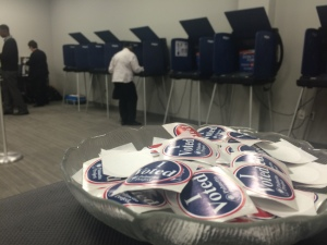 Voting booths in SC