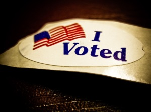 In 17 years of voting at this polling place, nevr took longer than 5 minutes...today it took 1 hr and 5 minutes!