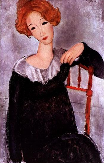Amedeo-Modigliani-Woman-with-Red-Hair-1917-large-1341477858
