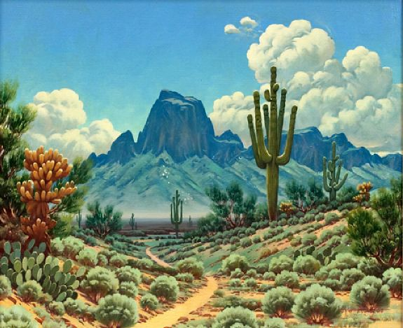 Arizona Landscape, Jose Aceves