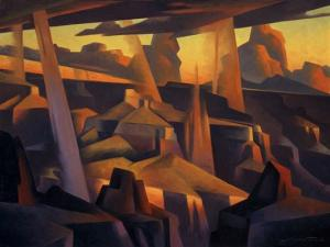 Scattered Rain, Grand Canyon, Ed Mell