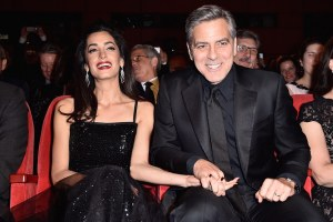 Amal and George Clooney