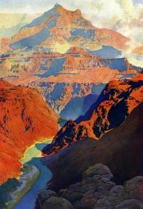 Grand Canyon, Maxfield Parrish