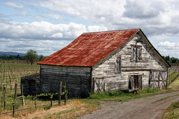 Old barn in Northern California