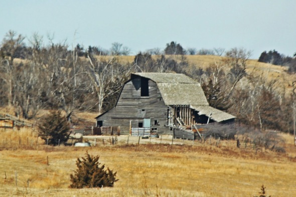 Old barn in Nebraska