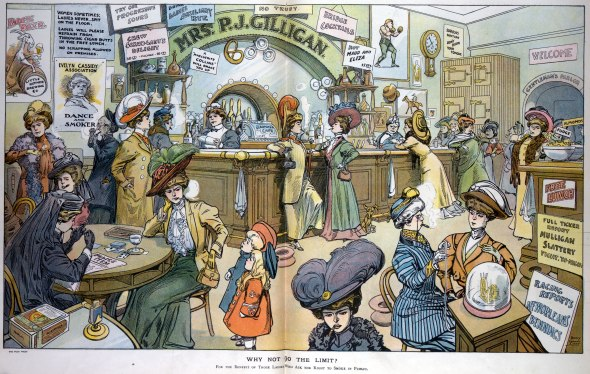 Smoking Bar for Ladies, Harry Grant Dart