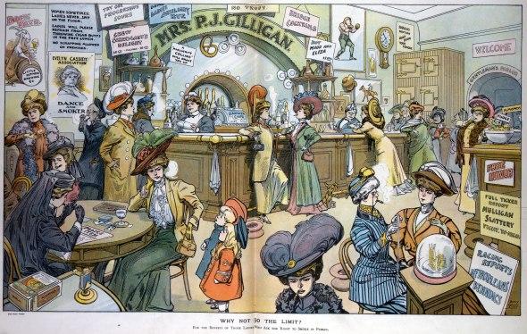 Smoking Bar for Ladies, Harry Grant Dart