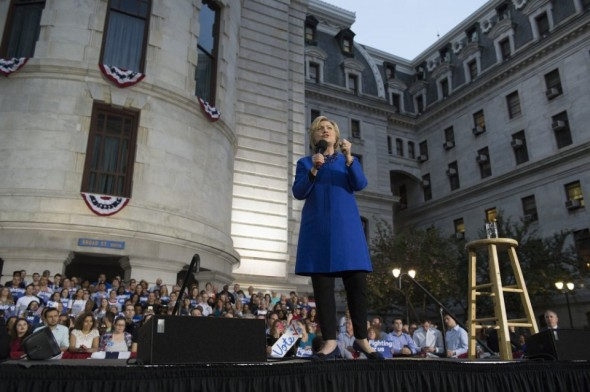 Hillary in Philadelphia, April 25, 2016