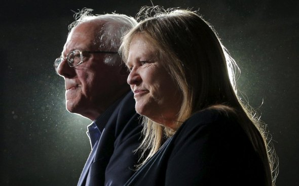 """Bernie and Jane: Fighting all those """"Corporate Democratic Whores"""""""