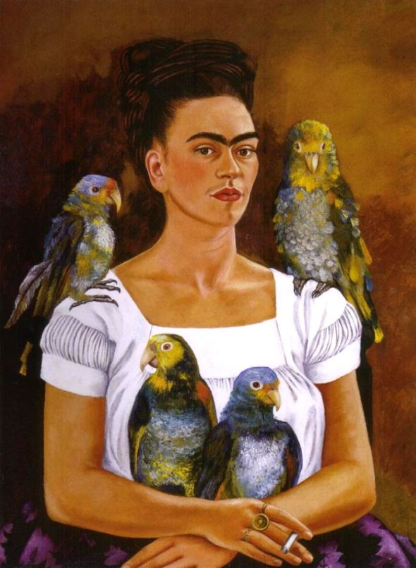 Frieda Kahlo: Me and My Parrots